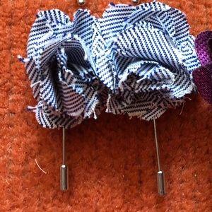 Various mens lapel pins